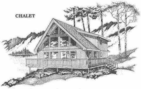 铅笔画的森林素描画