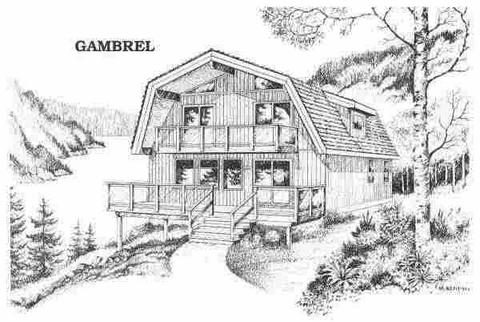 小木屋设计铅笔