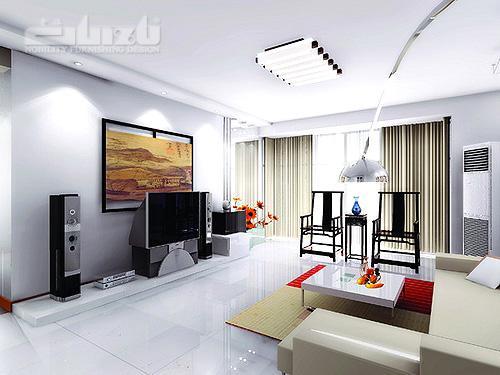 中国风装修案例之三:黑白优雅