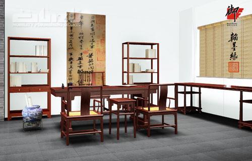 书房中式红木家具欣赏