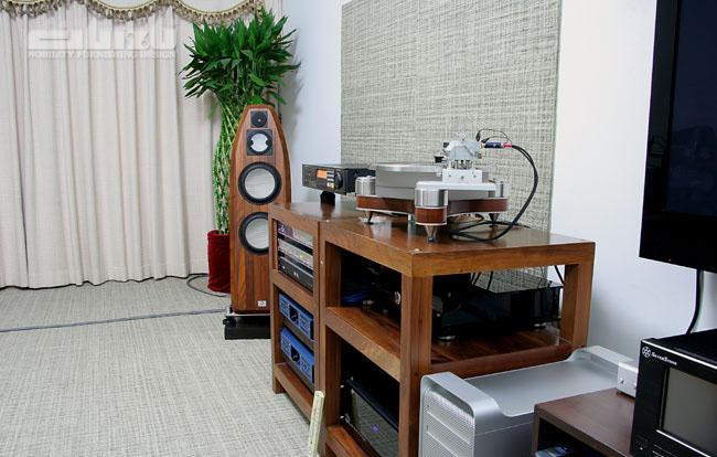 网友家访体验PC HIFI和50万元扬声器的魅力