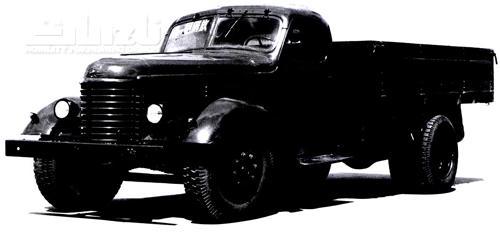 第一批驶下生产线的解放牌汽车叫ca10型,它以苏联吉斯150为蓝本制造