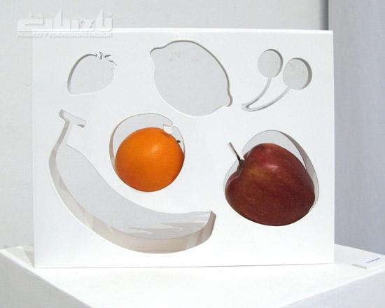 nendo: fruit-template