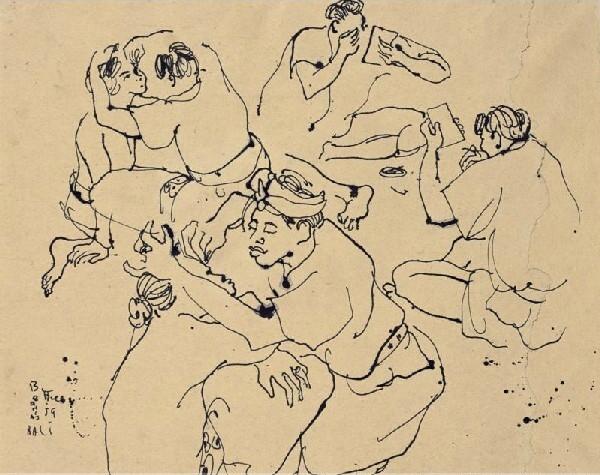 印尼海娜手绘 小图