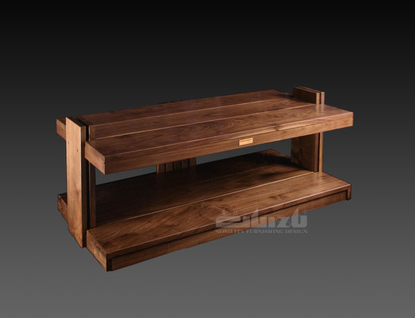 SWAV-2AL(Pure wood double  shelves A / V cabinet(SWAV-2AL))