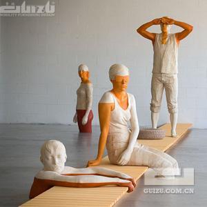 意大利艺术家Willy Verginer 木雕作品