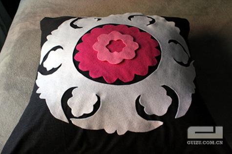 手工抱枕制作方法 - 文章
