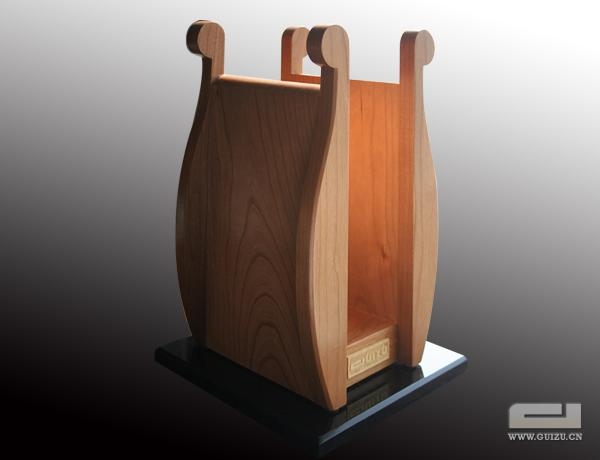 PHS-1(Natural wood headphone stand )
